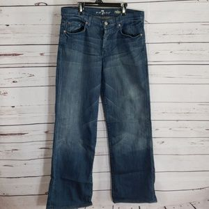 Mens 7FAM relaxed Jeans 32x29